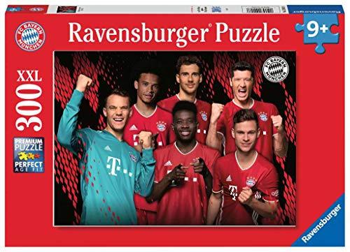 Ravensburger Kinderpuzzle 12918 - FC Bayern Saison 2020/21 - 300 Teile