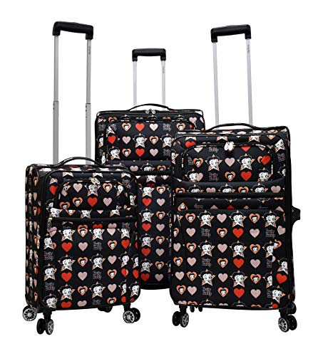 Betty Boop Luggage Set with Carry on Size. 20