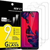 NEW'C Lot de 3, Verre Trempé Compatible avec Huawei P20 Pro, Film Protection écran - Anti Rayures...