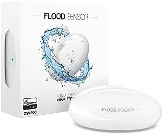 FIBARO Flood Sensor Z-Wave Plus Water Leak, Freeze & Temperature Controller, FGFS-101, White