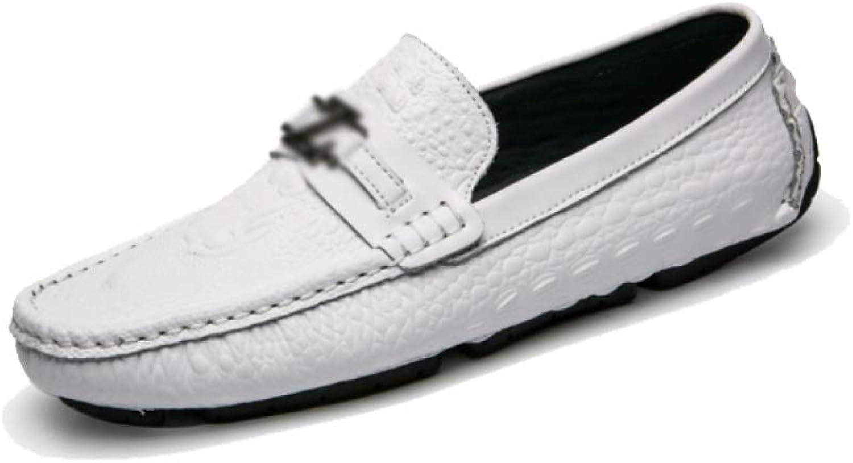 AEYMF Peas Schuhe Herren Business Schuhe Atmungsaktive Fahrschuhe Jugend Sommer