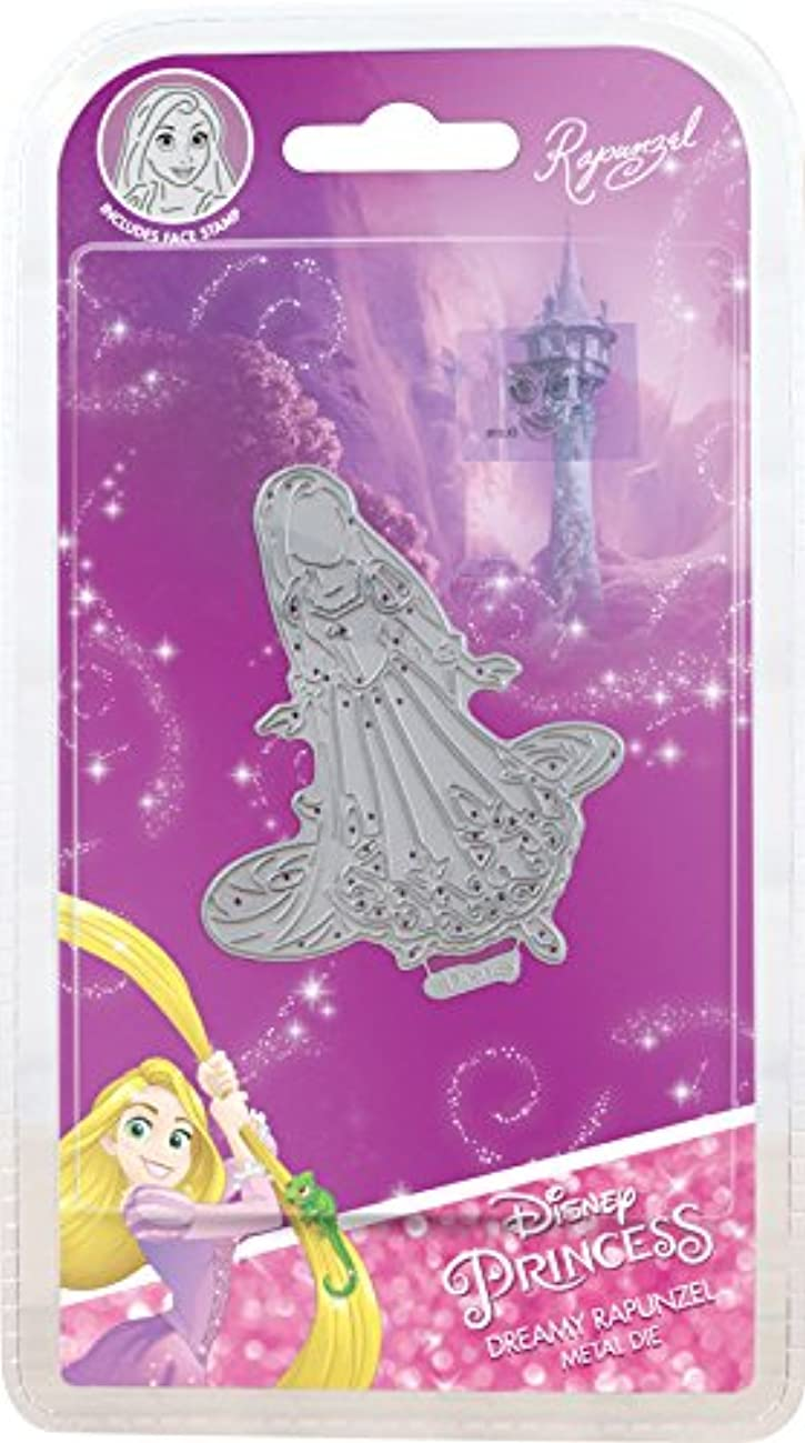 Character World Limited DUS0627 Dreamy Rapunzel Die Set, Silver