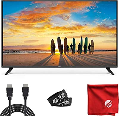 VIZIO V-Series 50-Inch 2160p 4K UHD LED Smart TV (V505-G9) with Built-in HDMI, USB, Dolby Vision HDR, Voice Control Bundle with Circuit City 6-Feet Ultra High Definition 4K HDMI Cable and Accessories by Vizio