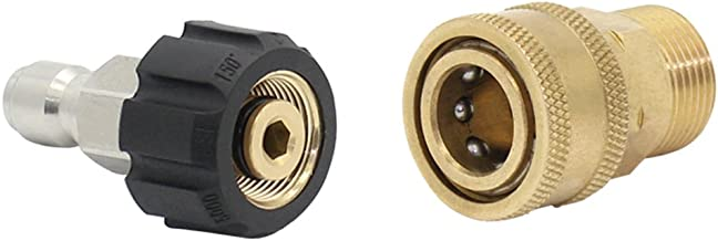 Twinkle Star Pressure Washer Adapter Set Quick Connect Kit, TWIS291