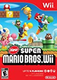 New items include the propeller suit, which will shoot players high into the sky with just a shake of the Wii Remote New Super Mario Bros. Wii offers a combination of cooperation and competition. Supports 2-4 players in multiplayer mode. Mario, Luigi...