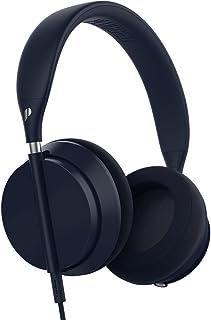 Plugged pcrwn16ds Crown On-Ear Flexible Plegable Equipster estéreo Hi-Fi Auriculares Denim/Plata