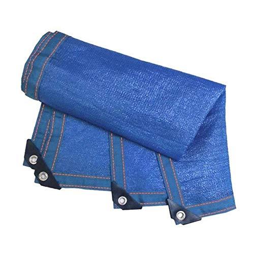 WangczType zonwering doek anti-UV blauw planten bescherming kas schuren zwinger zwembad pergola schaduwnet