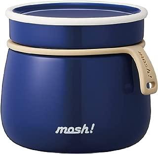 モッシュ!(mosh!) フードコンテナ 保温ランチジャー スープジャー 350ml ブルー ラッテ ドウシシャ