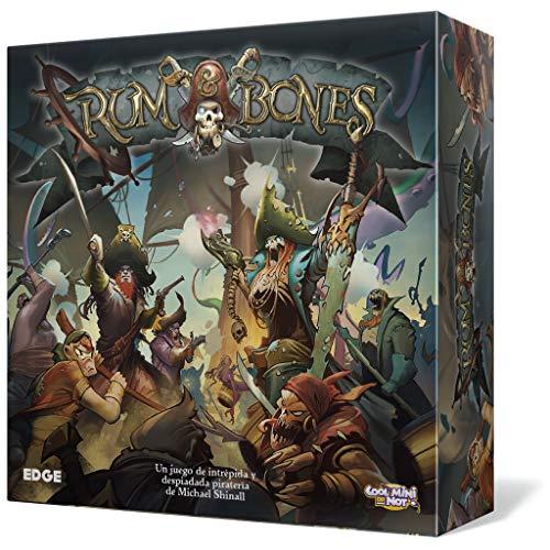 Rum & Bones–Das Brettspiel (Edge Entertainment edgrab01)