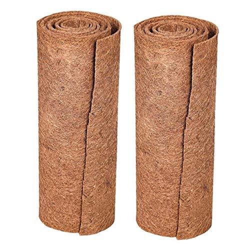 Reptil de la alfombra, la tortuga Material de fibra de coco Sustrato lagarto jaula Mat, Coco Fibra Liner serpiente de cama Natual de fibra de coco de alfombras para el dragón, Mat conejo de conejito