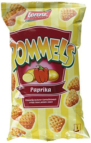 Lorenz Snack World Pommels Paprika, 12er Pack (12 x 75 g)