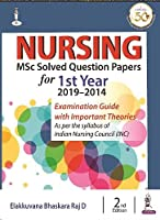 Nursing MSc Solved Question Papers for 1st Year (2019-2014)
