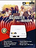 Best Lte Routers - DAIMI 4G SIM Router Portable Router with Access Review