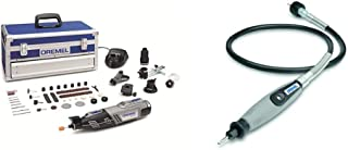DREMEL 8220 5/65 - Multiherramienta inalámbrica + Dremel 225 - Eje flexible