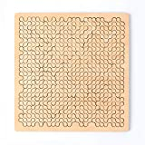 Imu kids Puzzles Wooden Fractal Jigsaw Puzzles | Devil Hard Puzzles Aztec Labyrinth | Difficult Puzzle for Adults and Kids