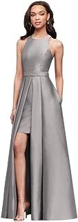 David's Bridal Mikado Bridesmaids Walkthrough Ball Gown Bridesmaid Dress Style F19822