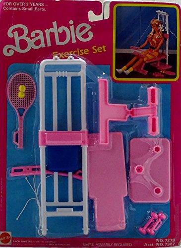Barbie Ejercise Set (1992 Arcotoys, Mattel)