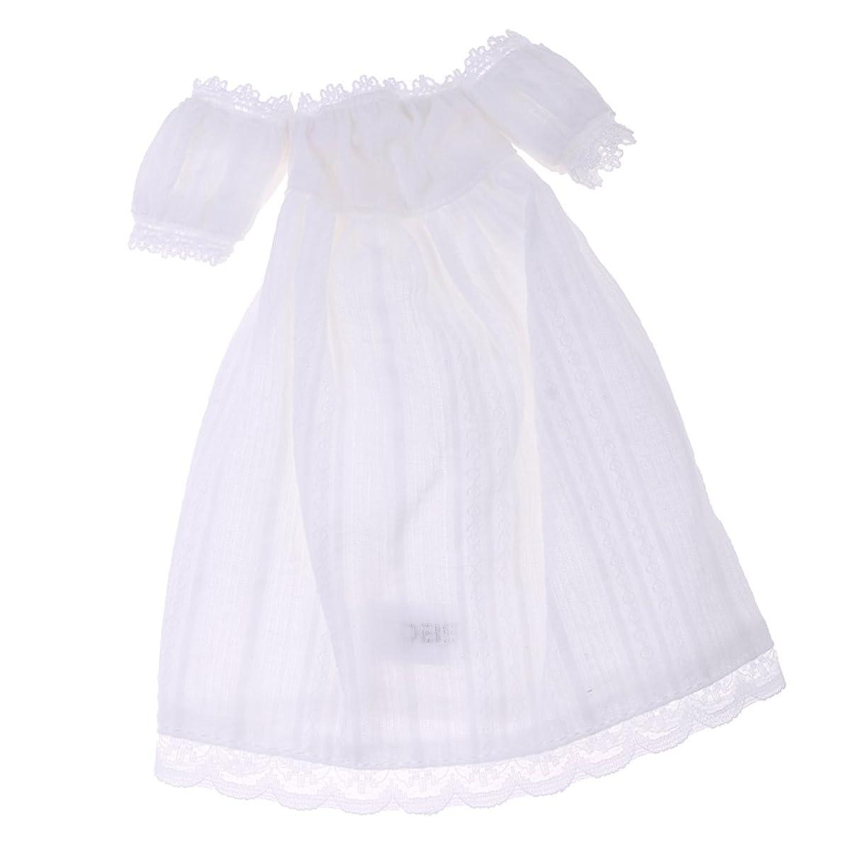 リースいたずら腐食する人形服 半袖スカート ストラップレス ドレス レース 1/6スケールブライス人形用 装飾 贈り物