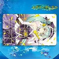 エヴァーガーデン アニメ Fate/Grand Order フェイト グランド オーダー FGO 清姫 きよひめ カードゲームプレイマット 遊戯王 プレイマット 収納ケース付き TCG万能 萌え カード枠あり (60cm * 35cm * 0.3cm)
