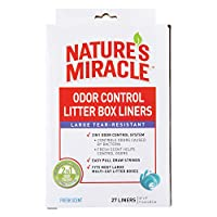 Nature's Miracle Odor Control Litter Box Liners, 27 Count by Nature's Miracle