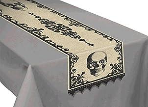Amscan 570018 Boneyard Table Runner