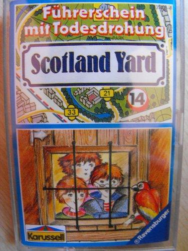 Scotland Yard Folge 14 Führerschein mit Todesdrohung Hörspiel Kassette Karussell