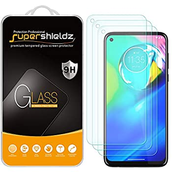 3 Pack  Supershieldz Designed for Motorola Moto G Power [Not Fit for 2021 Version] Tempered Glass Screen Protector Anti Scratch Bubble Free