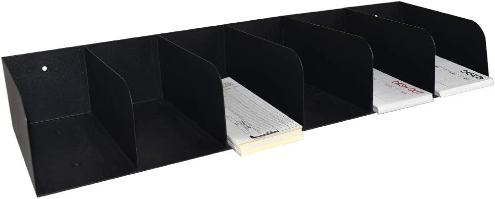 BankSupplies Steel Document Organizer Sale SALE% OFF Raleigh Mall Powd Black 6-Pockets
