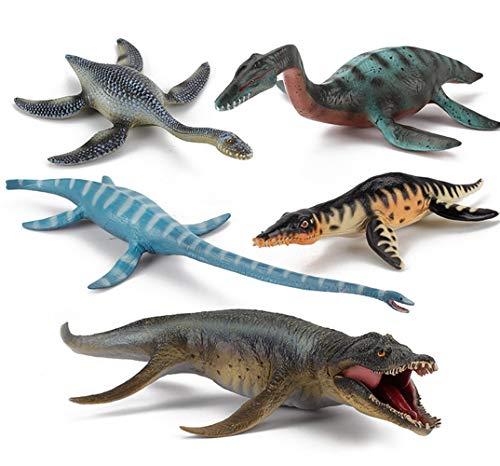 HEXL 5 PCS Figura de acción Realista Figura Dinosaur Modelo, Jurassic World Park, Jugdelers Regalo de Juguete Educativo para niños y niñas