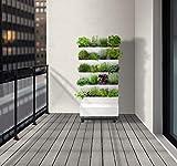 Jardibric - Jardin Potager d'intérieur Vertical Home Garden 5 étages de 4 Compartiments indépendants avec goutteur et Une Pompe programmable intégrée