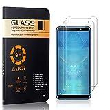 3 Stück Panzerglasfolie Schutzfolie Kompatibel mit Galaxy A7 2018, LAFCH HD Klar Gehärtetem Glas Displayschutzfolie für Samsung Galaxy A7 2018