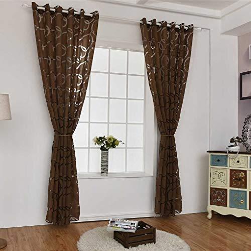 MaoDaAiMaoYi cirkel blaas schaar doorlaatbaar venster gordijn balkon woonkamer semi unicaat sheer jaloezie deur kamerverdeler bubbles gordijnen beige 100 * 250cm