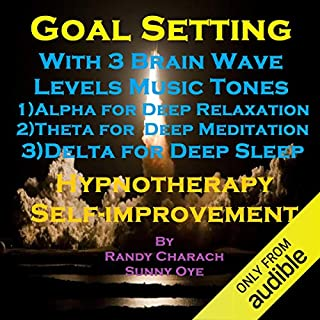Goal Setting with Three Brainwave Music Recordings Titelbild