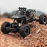 WGFGXQ Speed RC Car 4WD Rock Crawlers Conducción de automóviles Motores Dobles Drive Bigfoot Car Control Remoto Modelo de automóvil Vehículo Todoterreno Juguete