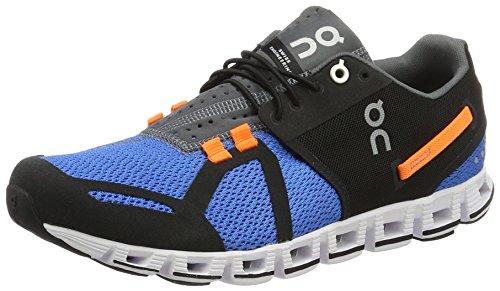 ON Men Cloud Athletic Shoe Black/Malibu