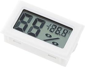 ACAMPTAR LCD Digital Termometros Higrometros Probadores de temperatura y humedad interna