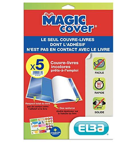 "Elba 400008903 Buchschoner\""Magic Cover\"", Inhalt: 5 Blatt"