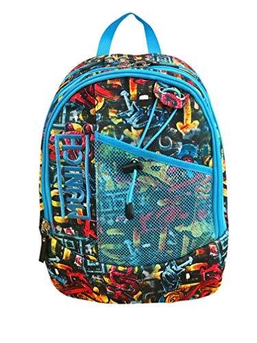 Munich Street Art Mochila Tipo Casual, 42 cm, 22 litros, Azul