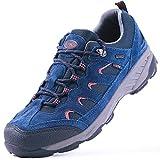 TFO Zapatos de senderismo para hombre, impermeables y transpirables, con suela antideslizante., color, talla 44 EU