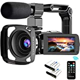 Best Camcorders - 4K Camcorder, Video Camera Ultra HD 48MP Review