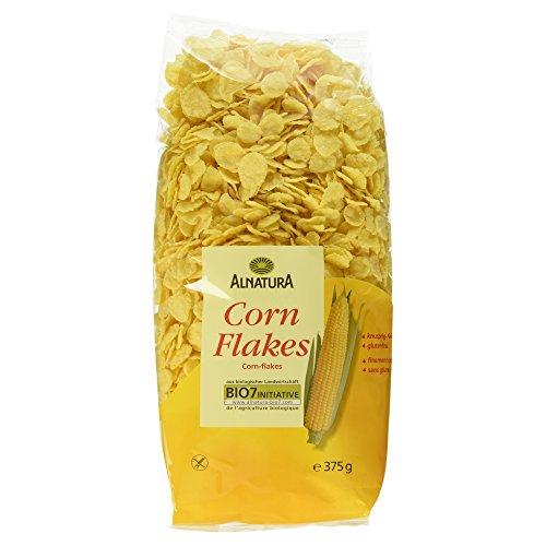Alnatura Bio Cornflakes, glutenfrei, 6er Pack (6 x 375 g)