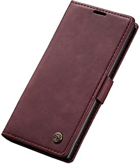 Leather Flip case For For Samsung Galaxy Note 10 From CaseMe - Red