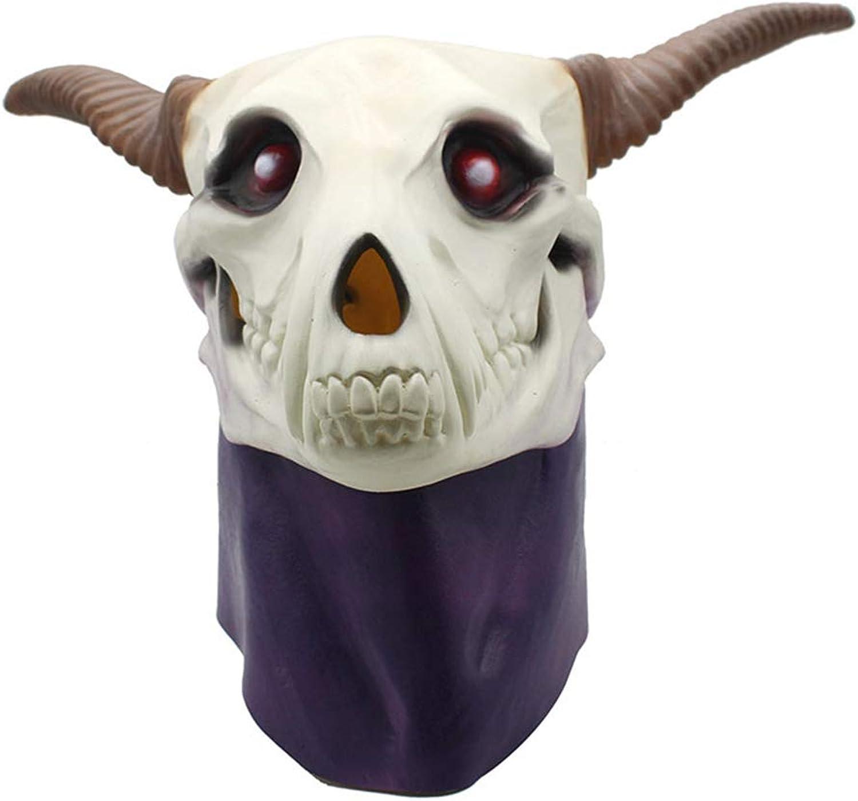 Ydq Halloween Schafskopf Maske Grün Latex Material Weihnachtskugel Party Party Rollenspiel Maskerade B07H2YCPMY Spielzeugwelt, spielen Sie Ihre eigene Welt   | Attraktives Aussehen