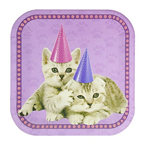 Blue Orchards Kitten Party Supplies Packs (113+ Pieces for 16 Guests!), Kitten Party Supplies, Cat Birthday