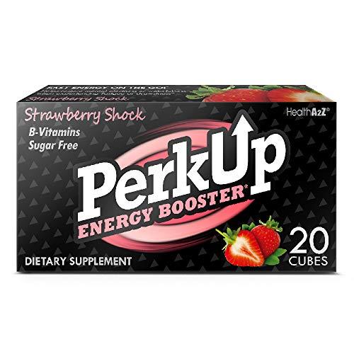 HealthA2Z PerkUp Energy Booster (Strawberry Shock, 20) - A healthy...