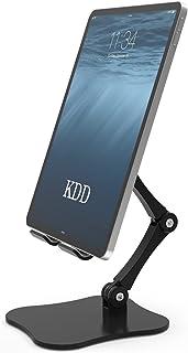 Tablet Holder Stand, Adjustable Desktop iPad Stand Holder Dock, Tablet Mount for Desk, Compatible with iPad Pro 12.9 11, i...