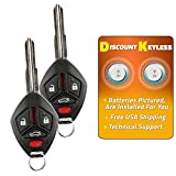 Discount Keyless Entry Remote Control Replacement Uncut Car Key Fob For OUCG8D-620M-A (2 Pack)