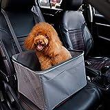 FAGavin Asiento elevador de coche para mascotas, asiento elevador de perro gato...