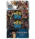 SNK - Sobre de 4 Pegatinas Mini (Neo Geo)