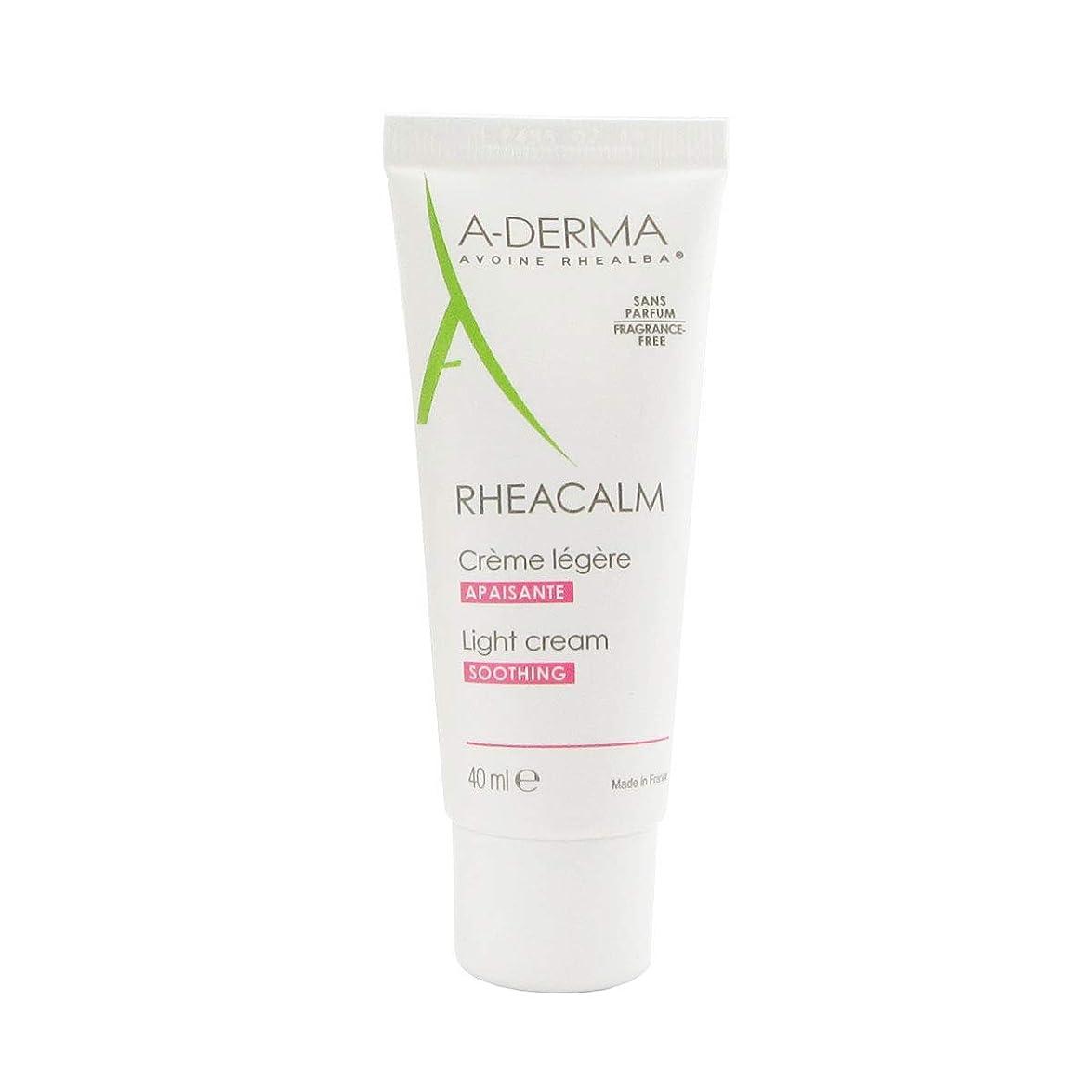 軽蔑医療過誤密輸A-derma Rheacalm Light Soothing Cream 40ml [並行輸入品]